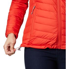 Columbia Powder Lite Chaqueta con capucha Mujer, naranja